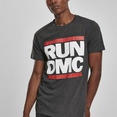 Mister Tee T-Shirt Run DMC Logo dunkelgrau
