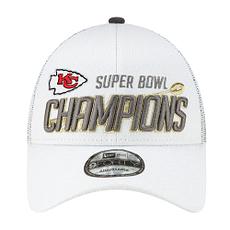 New Era Kansas City Chiefs Cap Super Bowl 54 Champion weiß