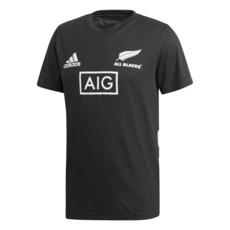 Adidas Neuseeland Rugby T-Shirt WM 2019 Schwarz