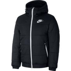 Nike Winterjacke Hooded Schwarz