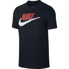Nike T-Shirt Futura Icon Schwarz/Rot/Weiß