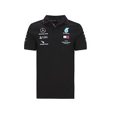 Mercedes AMG Petronas Team Poloshirt 2020 schwarz