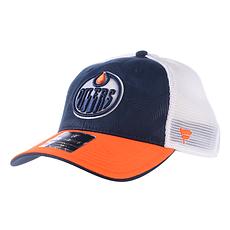 Fanatics Edmonton Oilers Iconic Cap blau