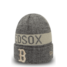 New Era Boston Red Sox Beanie Marl Cuff Knit grau