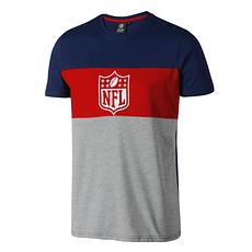 Fanatics NFL Shield T-Shirt Cut & Sew navy