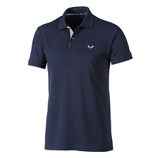 Cotton Butcher Poloshirt Basic dunkelblau