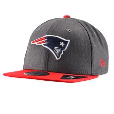 New Era New England Patriots Cap 9FIFTY Heather grau