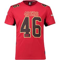 Fanatics San Francisco 49ers T-Shirt Moro Poly Mesh rot