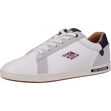 Lee Cooper Sneaker Veloursleder bright white