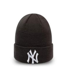 New Era New York Yankees Beanie League Essential Cuff grau