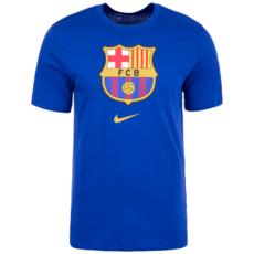 Nike FC Barcelona T-Shirt Evergreen Crest dunkelblau