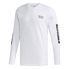 Adidas Langarmshirt BRAND Weiß