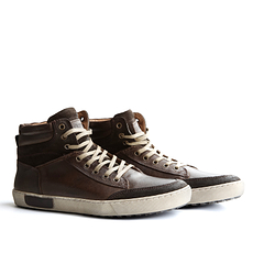 TRAVELIN OUTDOOR Sneaker Aberdeen High dunkelbraun