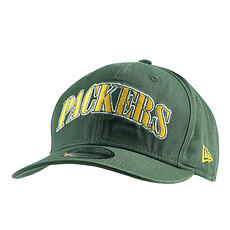 New Era Green Bay Packers Cap Pre Curved 9FIFTY grün