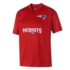 New Era New England Patriots Trikot Wordmark rot