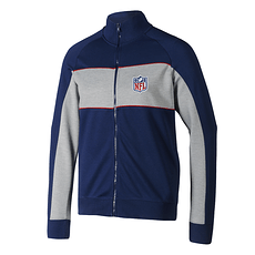Fanatics NFL Shield Track Jacke Cut & Sew navy