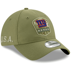 New Era New York Giants Cap Salute To Service 9TWENTY oliv
