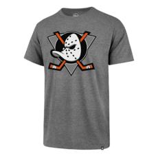 47 Brand Anaheim Ducks T-Shirt Imprint Splitter grau