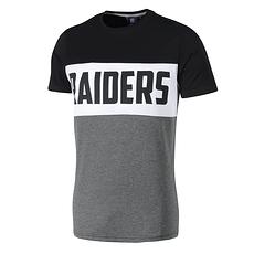 Fanatics Oakland Raiders T-Shirt Cut & Sew grau/schwarz