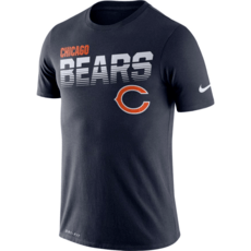 Nike Chicago Bears T-Shirt NK Blau