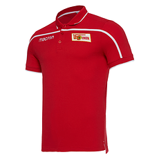 Macron 1. FC Union Berlin Poloshirt Player rot/weiß