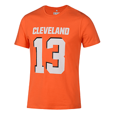 Fanatics Cleveland Browns T-Shirt N&N Core Odell Beckham Jr No 13 orange