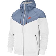 Nike Kapuzenjacke Windrunner Weiß/Blau/Orange