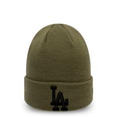 New Era Los Angeles Dodgers Beanie League Essential Cuff grün