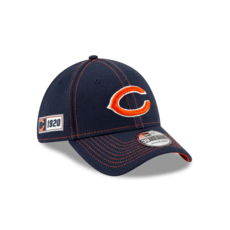 New Era Chicago Bears Cap On Field 39THIRTY blau
