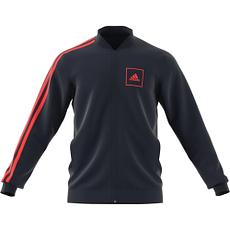 Adidas Trainingsjacke M 3S PIQUET marine/rot