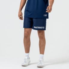 New Era New England Patriots Shorts Team Logo & Wordmark blau