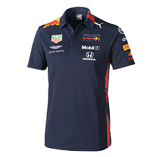 Aston Martin Red Bull Racing Team Poloshirt 2019 navy