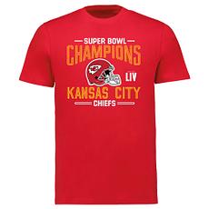 Fanatics Kansas City Chiefs T-Shirt Iconic Punt Super Bowl rot