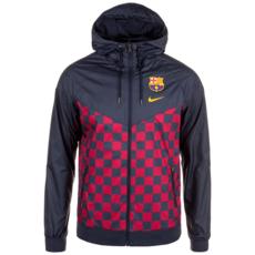 Nike FC Barcelona Windrunner Woven dunkelblau/rot