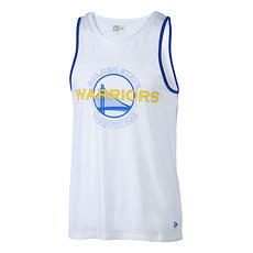 New Era Golden State Warriors Tanktop Double Logo weiß