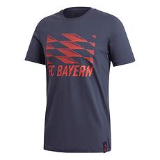 Adidas FC Bayern München T-Shirt 2019/2020 Blau