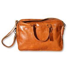The Pearsons Home Business Tasche Mick cognac