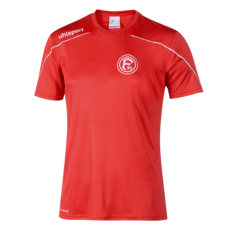 uhlsport Fortuna Düsseldorf Training Shirt Sport rot/weiß