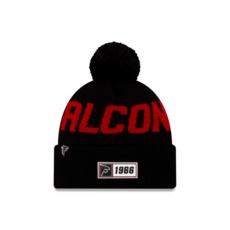 New Era Atlanta Falcons Beanie On Field Sport Knit RD schwarz