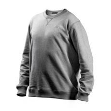 Cotton Butcher Sweatshirt Rundhals grau