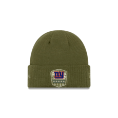 New Era New York Giants Beanie Salute To Service oliv