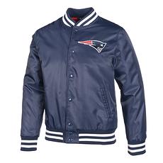 New Era New England Patriots Bomberjacke Wordmark blau