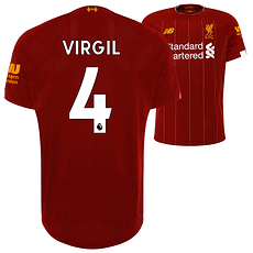 New Balance FC Liverpool Trikot VIRGIL 2019/2020 Heim