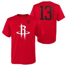 Outerstuff EMEA Houston Rockets T-Shirt James Harden Standing Tall rot