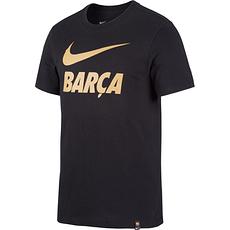 Nike FC Barcelona Fan T-Shirt 2020/2021 Schwarz