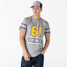 New Era Minnesota Vikings T-Shirt Team Established grau
