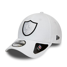 New Era Oakland Raiders Cap Team 9FORTY weiß