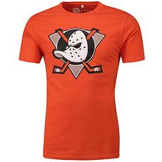 Fanatics Anaheim Ducks T-Shirt Secondary Core Graphic orange