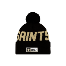 New Era New Orleans Saints Beanie On Field Sport Knit RD schwarz