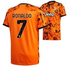 Adidas Juventus Turin Trikot RONALDO 2020/2021 CL Kinder